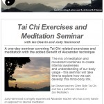 Tai Chi Exercises and Meditation Seminar