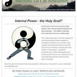 Internal power - the Holy Grail?, 7th January 2015 newsletter