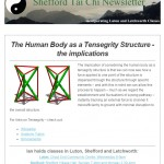The human body as a Tensegrity Structure, 25th February 2015 Newsletter