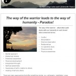 The way of the warrior, 5th February 2015 Newsletter
