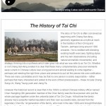 The History of Tai Chi, 11th March 2015 Newsletter