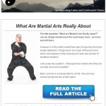 What are Martial Arts Really About, 13th May 2015 Newsletter