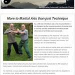 More to martial arts than just technique, 24th September 2015 Newsletter
