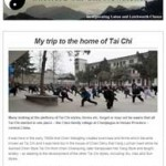 My trip to the home of Tai Chi, 6th October 2015 Newsletter