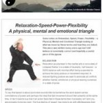 Relaxation-Speed-Power-Flexibility, a physical, mental and emotional triangle. 17th February 2016 Newsletter