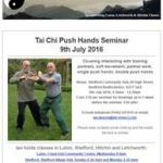 Push Hands Seminar on 9th July 2016