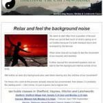 Relax and feel the background noise, 6th September 2016 Newsletter
