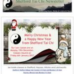Christmas Greetings from Shefford Tai Chi
