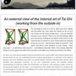 An external view of the internal art of Tai Chi, 4th April 2017 Newsletter