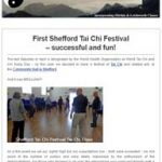First Shefford Tai Chi Festival - successful and fun!, 4th May 2017 Newsletter