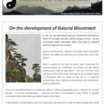 On the development of Natural Movement, 6th June 2017 Newsletter