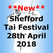 Shefford Tai Chi Festival, April 2018