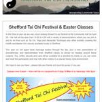Shefford Tai Chi Festival and Easter Classes - 22nd March 2018 Newsletter