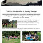 Tai Chi Residential Weekend at Belsey Bridge