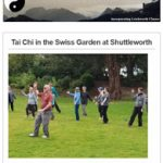 Tai Chi in the Swiss Garden at Shuttleworth - May 2019 Newsletter
