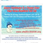 Merry Christmas and a Happy New Year - December 2019 Newsletter from Shefford Tai Chi
