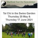 Tai Chi in the Swiss Garden, Thursday 20th May and Thursday 17th June 2021.